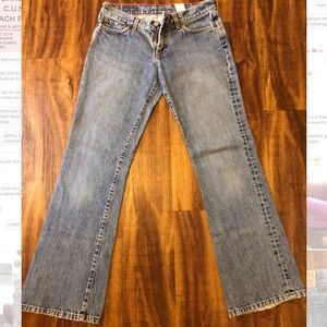 vintage 90's lucky brand jeans (mid rise)